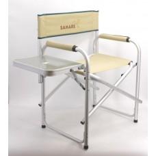 alx008 sahare  كرسي مع طاولة جانبية  (بيج)